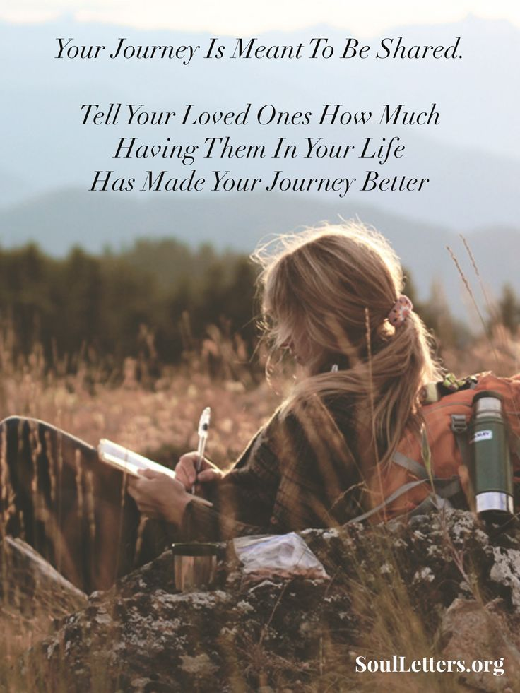 Sharing is what makes the journey worthwhile