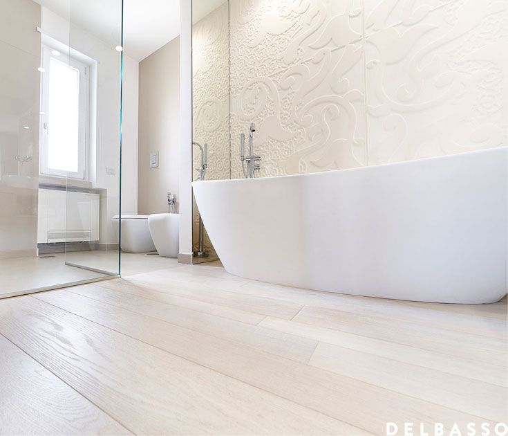 17 best french oak floors images on pinterest french oak flooring and floors - Bagno con parquet ...