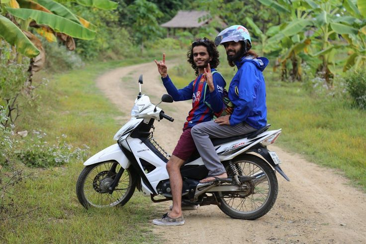 Riders on the Luang Prabang, Laos. #NomadicBoy #traveller #nepali🇳🇵 #adventure #travel #laos🇱🇦#southeastasia #laostrip #asia #photography #travelphotography