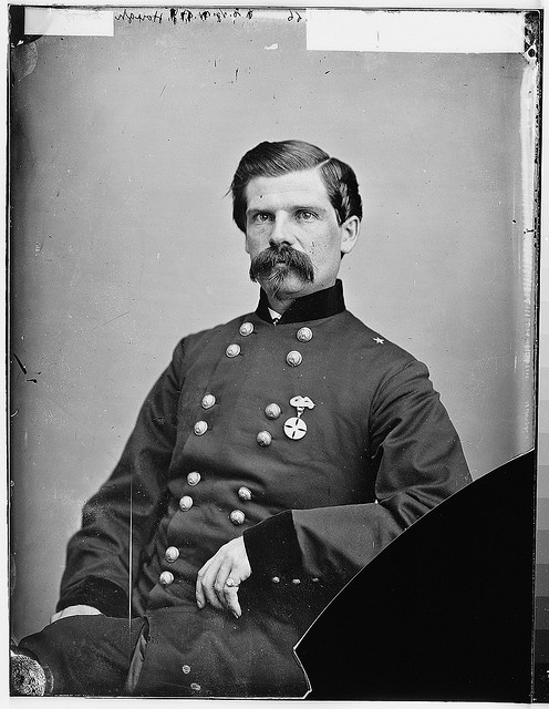 What a wonderful mustache!  Gen. John Hough by The U.S. National Archives, via Flickr