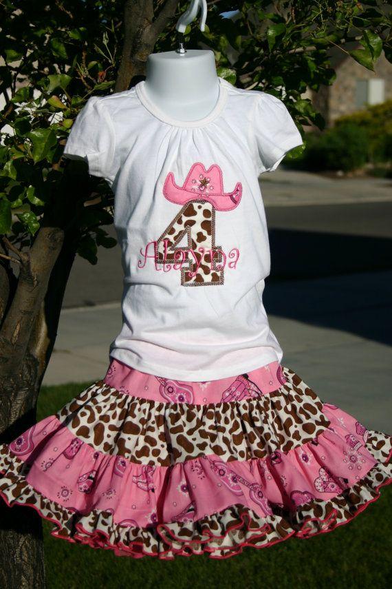 Cowgirl Birthday Dresses Fashion