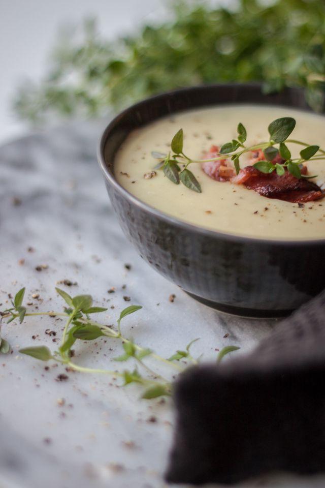 Recept | Krämig soppa med jordärtskocka