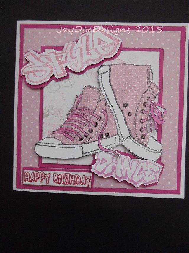 Girlie Sneakers | docrafts.com