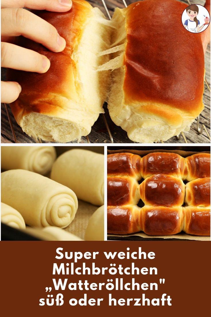 """Super weiche Milchbrötchen – """"Watteröllchen"""""""