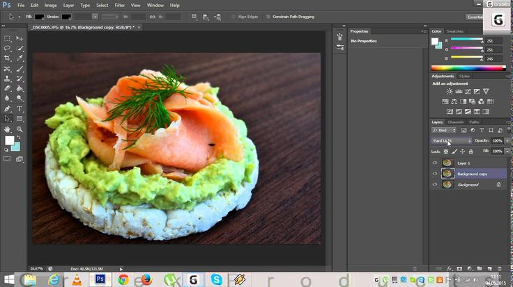 Food photography simple editing for blogging and beginners with Photoshop
