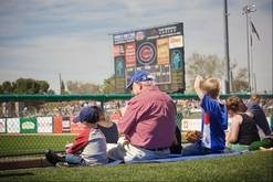 From the Daily Herald: Spring training for the Chicago Cubs runs through March at HoHoKam Stadium in Mesa. A new stadium under construction will open in 2014.