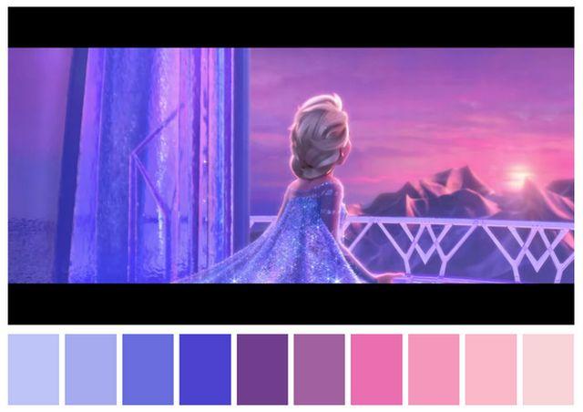 Como as paletas de cores determinam o clima dos filmes-frozen.png