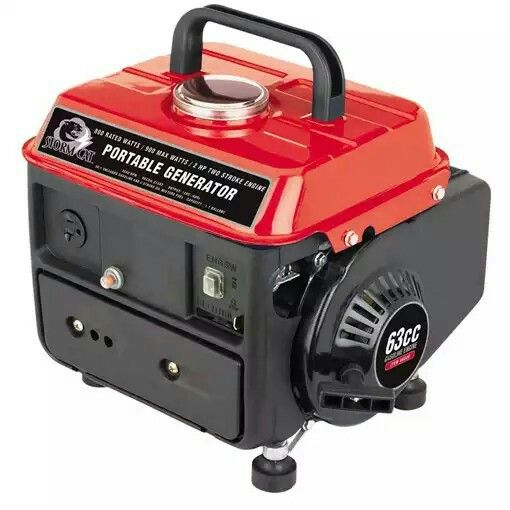 Small, portable generator that'll handle the tasks your solar and wind power solution most likely can't.