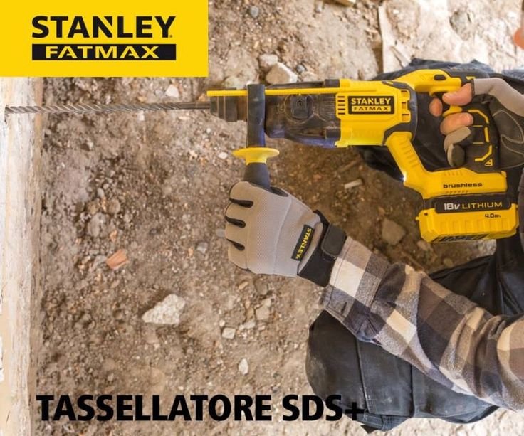 Nuovo Tassellatore BRUSHLESS 18V 4.0ah con 2 batterie e valigetta in Promozione € 245,82 + Iva www.bricohouse.it