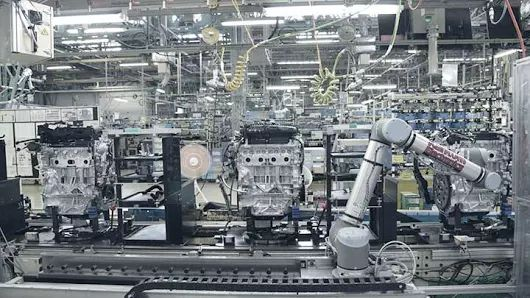 Nissan Motor Company work with UR10 cobot solution