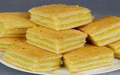 Пирожное с лимонно-апельсиновой начинкой