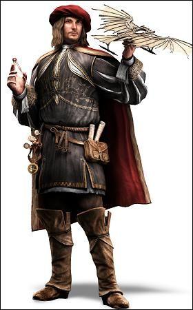 This is how Leonardo Da Vinci dressed