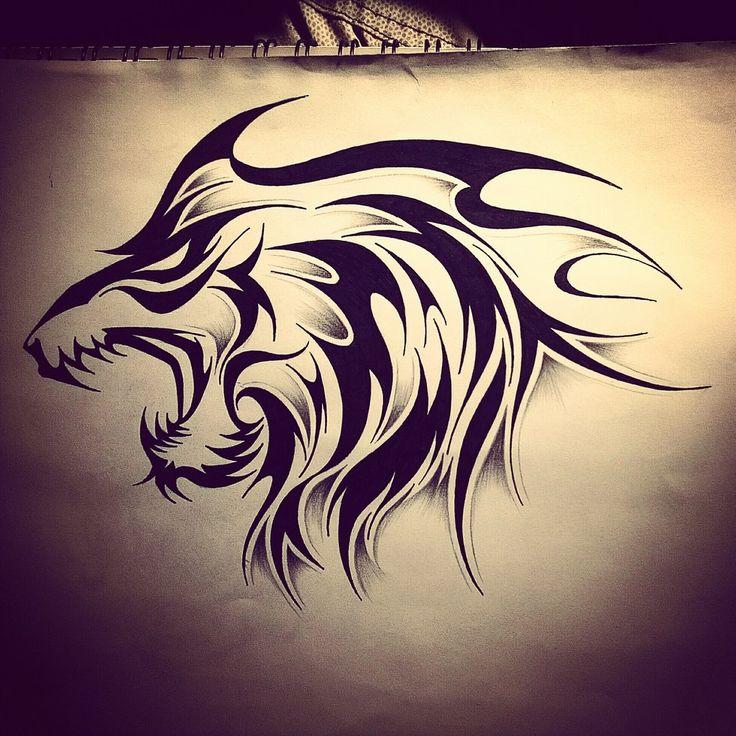 36 Best Maori Lion Tattoo Designs Images On Pinterest