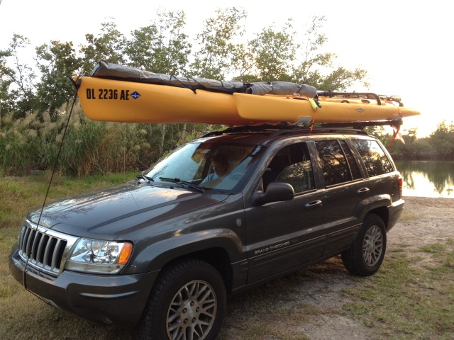 Can we car-top a Hobie Tandem Island AND tow our Airstream? Many bugs to work out . . . Such a long boat; such a short vehicle.
