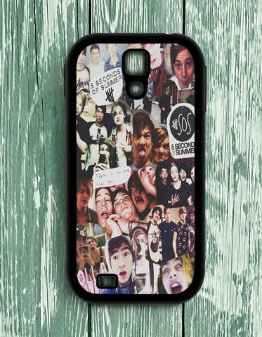 5 Second Of Summer Collage Art 5 SOS Music Samsung Galaxy S4 | Samsung S4 Case