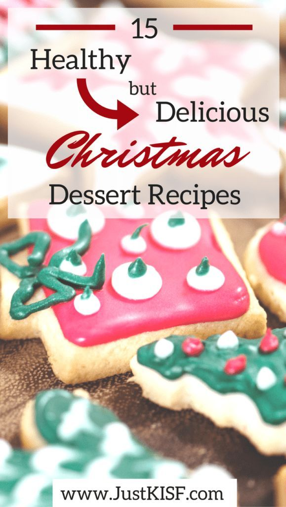 Christmas Desserts Pinterest.15 Healthy But Delicious Christmas Dessert Recipes