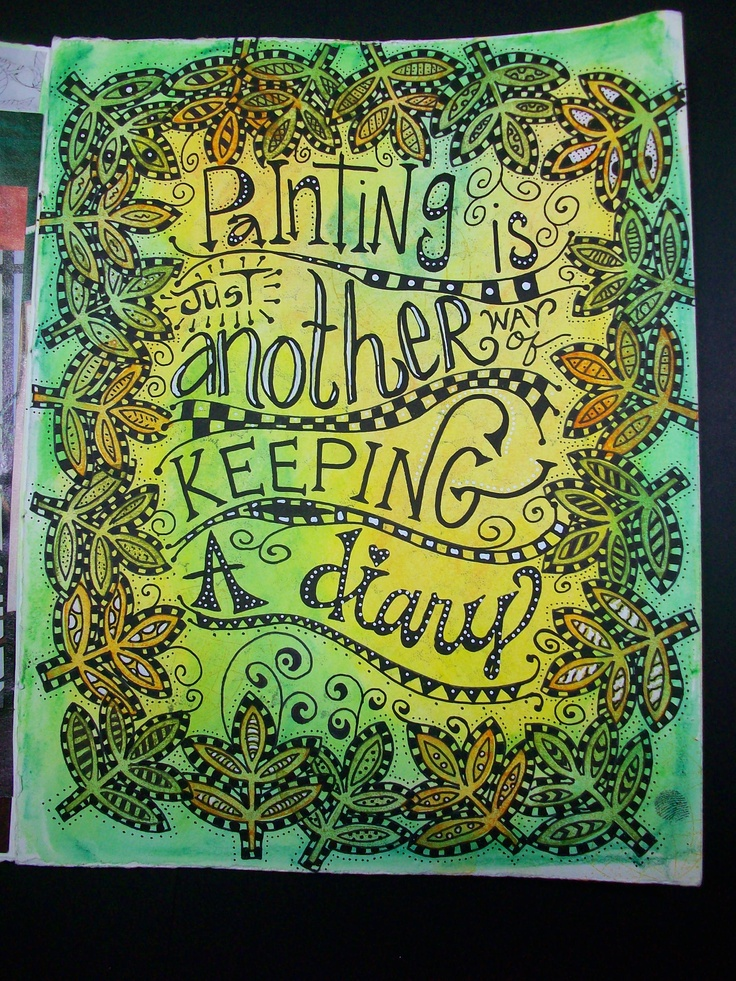 I heart zentangles!  This one is so superbly executed!  @Samara Gugler