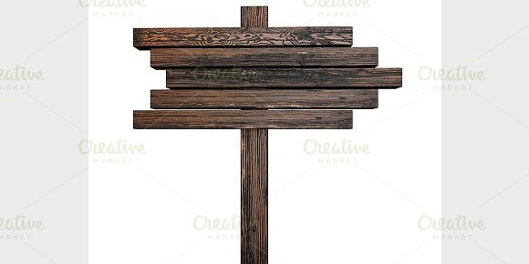 Wooden Sign Wooden Signs Wooden 3d Visualization