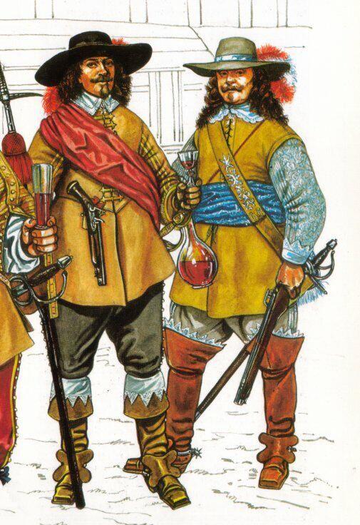Royalist officers | Year 8 Stuarts & Civil War | Pinterest ...