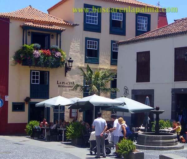 LA PLACETA -Bistro- Restaurant    Placeta Borrero, 1  38700 Santa Cruz de la Palma