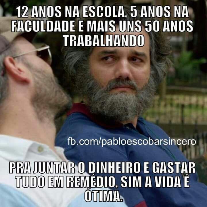 Vidinha de brasileiro não é fácil.