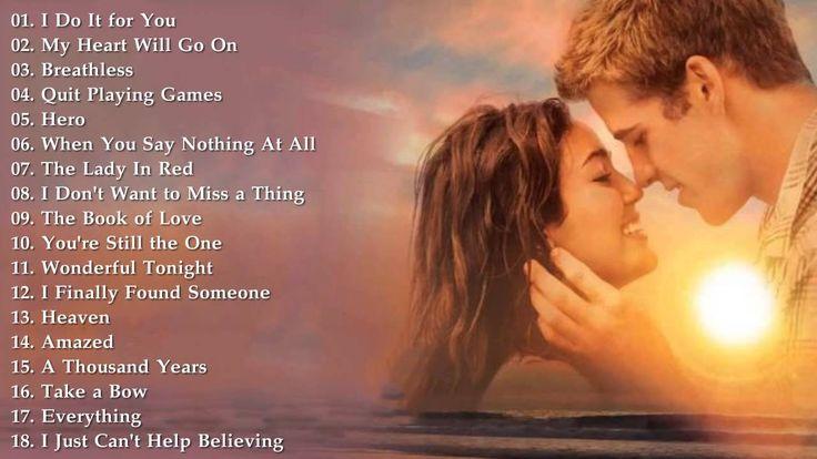 Best Love Songs: 50 Top Love Songs of All Time