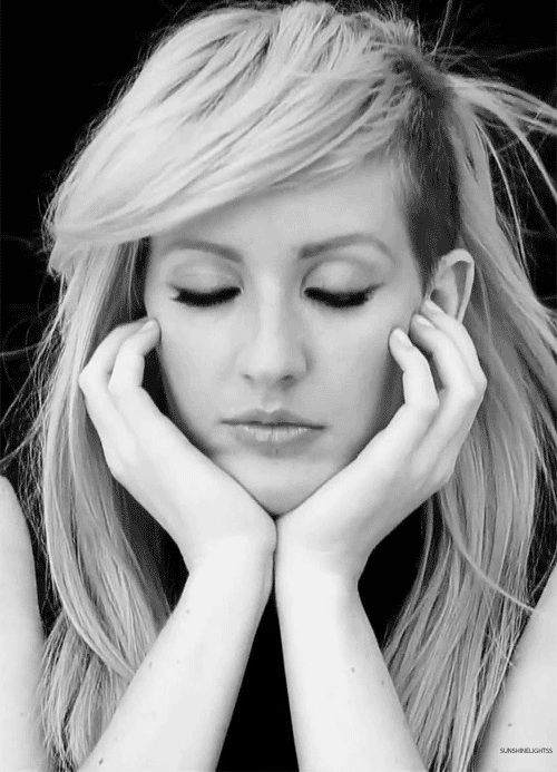 Ellie Goulding is a beauty