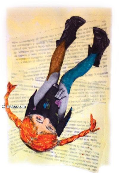 Pippi Calzelunghe, progetto per copertina, Lisa Massei