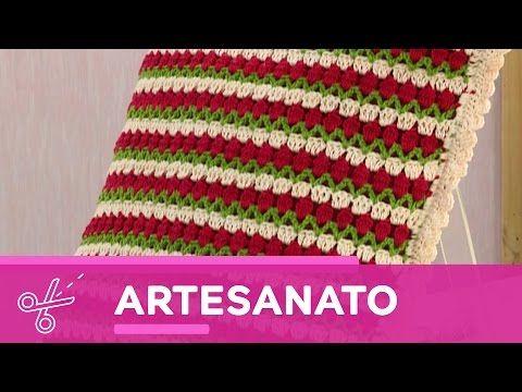 Vida com Arte | Almofada geométrica por Marta Araújo - 28 de maio de 2016 - YouTube
