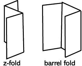 Make a tri-fold brouchure