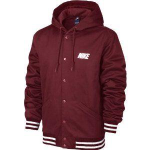 Nike Varsity Gx Veste à capuche en coton pour homme Rouge Bordeaux ...