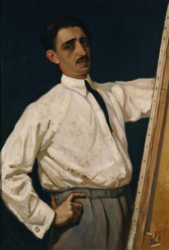 Self-Portrait -  Periklis Vyzantios