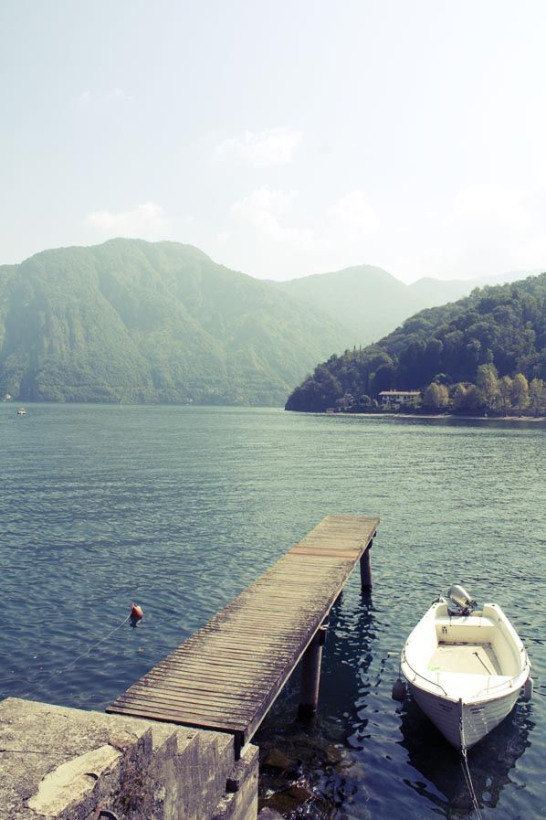 lake como is such an incredible place!  Lenno, Lago di Como, Lombardy, Italy