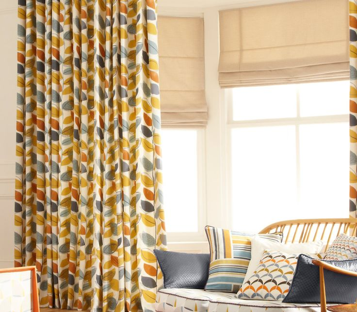 iLiv Modus Roman Blinds - Perfect natural roman blinds to go with any colour in your home! Spring inspired!