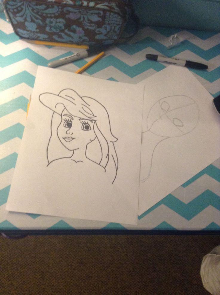 Ariel is done!!❤️