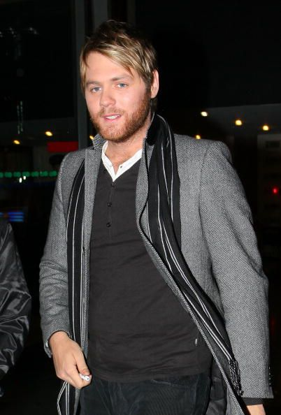 Former Westlife member Brian McFadden appears on the Late Late Show on March 13 2009 in Dublin Ireland