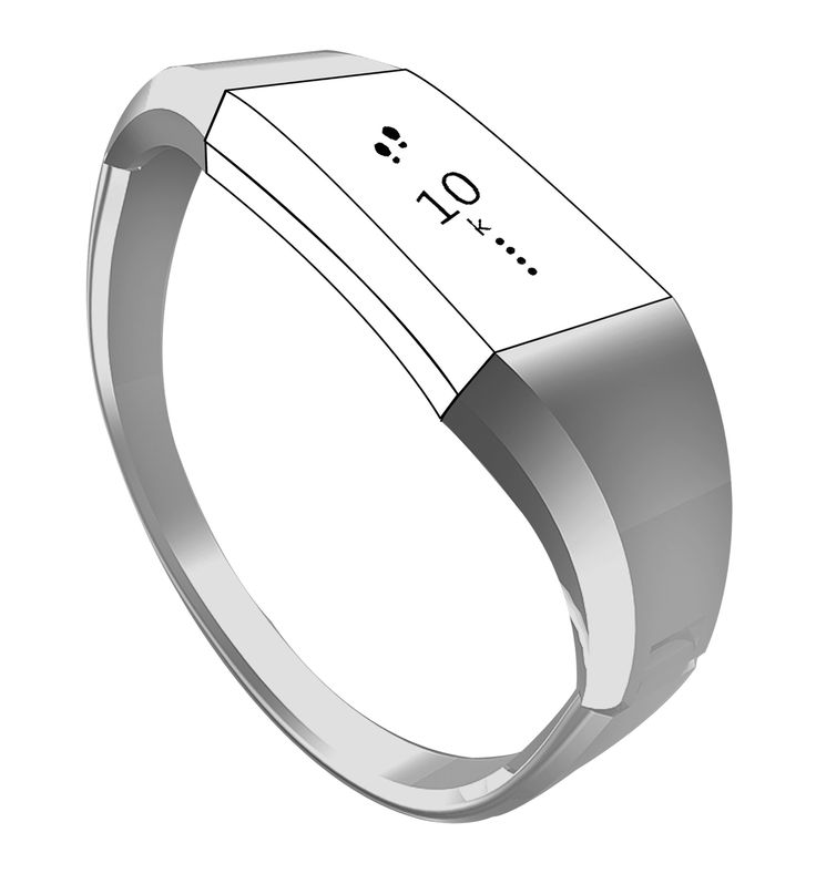 """Bracelet Accessory Bands for Fitbit Charge 2, Unique Exclusive Jewelry Bangle Watch Wrist Bands for Fitbit Charge 2 Tracker /Fitbit Charge 2 Bands, One-Size(6""""-6.9""""). Unique Design ! Metal Bracelet Bands for Fitbit Charge 2 only ( no tracker ). Transform your Charge 2 into fashion& elegant style with the Exclusive watch bands which comes with metal highly polished surface and have such a nice curved Hourglass Figure !. Unadjustable One-Size fits for wrist size ( 6""""- 6.9"""" ), Flexible clasp is"""