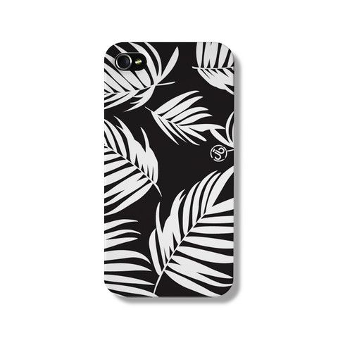 Newport Palm Black iPhone 5 Case from The Dairy www.thedairy.com #TheDairy