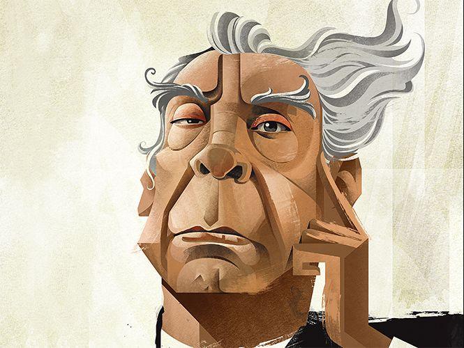 Jorge Luis Borges, 30 años sin #borges, bien argentino, bien de buenos aires