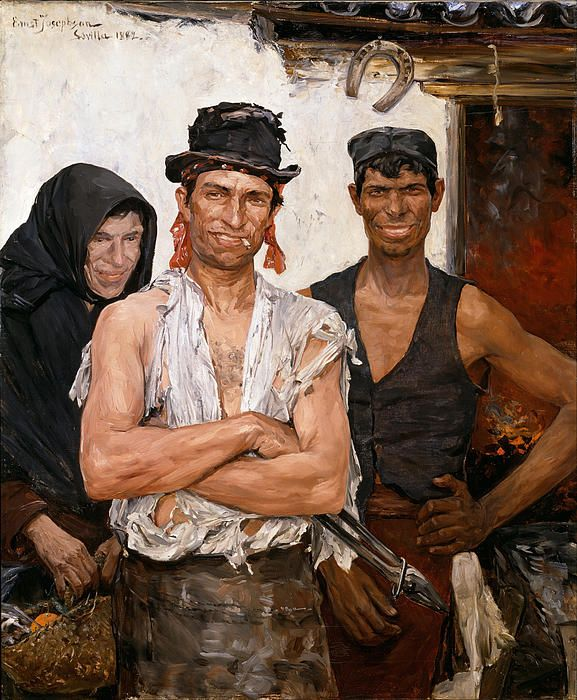 Spanish Blacksmiths Ernst Josephson