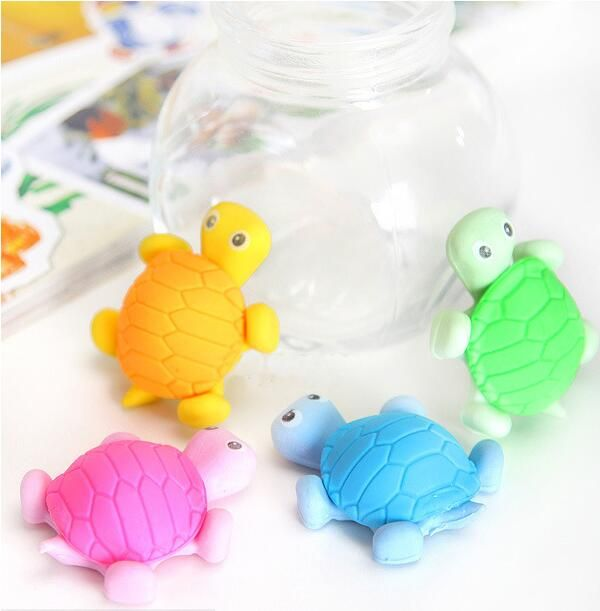 Animal cartoon turtle eraser eraser / student gifts Japan and South Korea stationery school supplies wholesale 00617