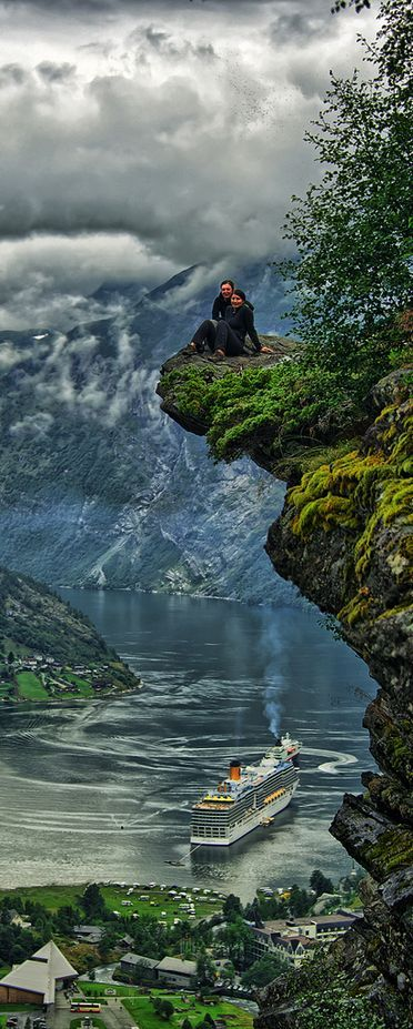 Geiranger, Norway. WOW! Words can't explain that feeling!