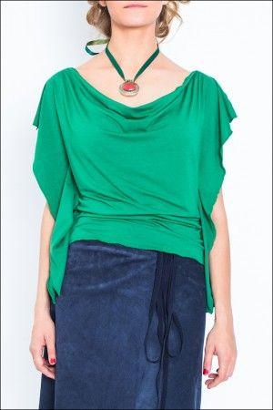 #Весна пришла, пора сменить теплый свитер на легкий #топ от #UONA. Распродажа 2400 р. Состав: 95% Вискоза 5% Лайкра Размеры: S, M Цвета в наличии: ярко-зеленый #блуза #топ #лето #одежда #купитьтоп #clothes #дизайнерскаяодежда