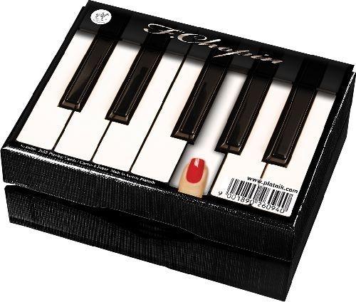 Klasyczne karty w fortepianowej oprawie ;) // Classical, piano framed cards ;)