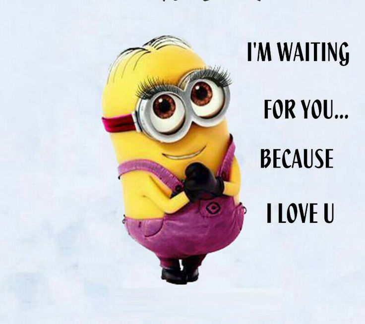 Minions Love Quotes Wallpaper : Minion i love you Minions make me laugh!!! Pinterest Love you, I love you and Minions
