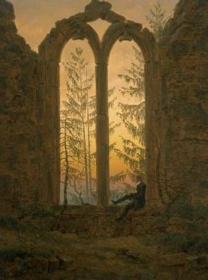 A Dreamer by Caspar David Friedrich What i like of his work that it looks like he really looks to find a good piece of work so he takes his time on his work.