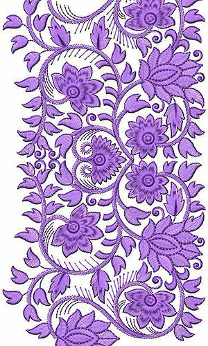 Gallery For Gt Machine Embroidery Lace Border Designs