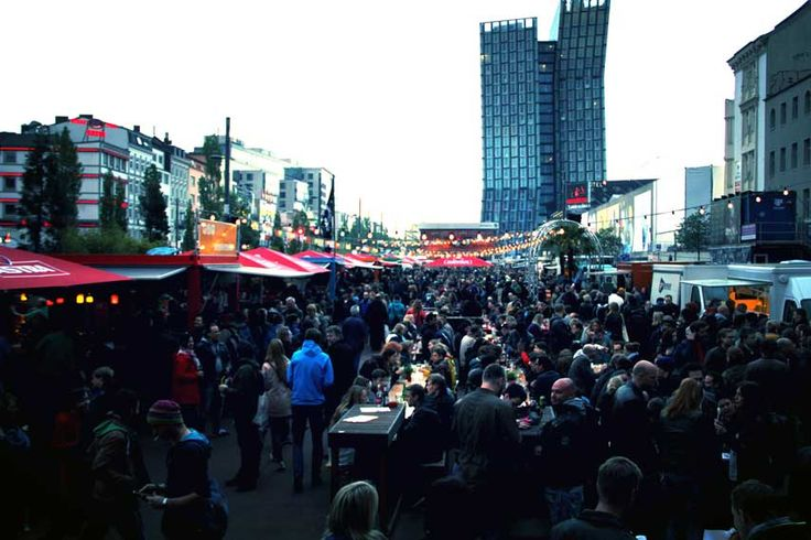 Street Food Winter Session auf dem Spielbudenplatz Hamburg