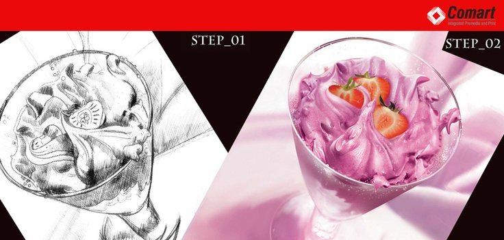 Take a look at this step by step formation of an image developed by Comart Group, and tell us what you think!