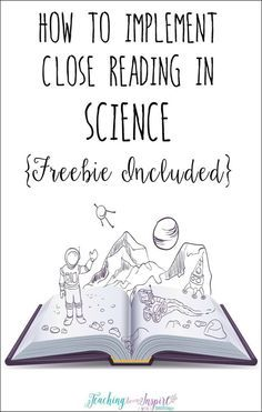 Using a close reading strategy in science is a perfect way for students to comprehend difficult science text and deepen their understanding. This post breaks down how to use close reading with any science text and has a FREE science passage with close reading steps to try it out in your classroom..